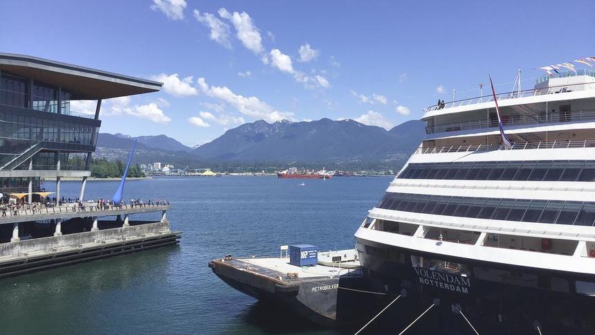 カナダ・バンクーバーの港