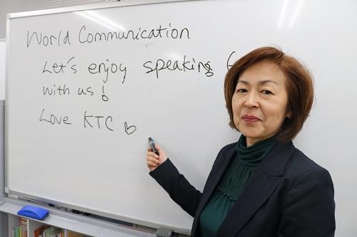 英語の楽しさを知ってほしいです。よろしくお願いします。