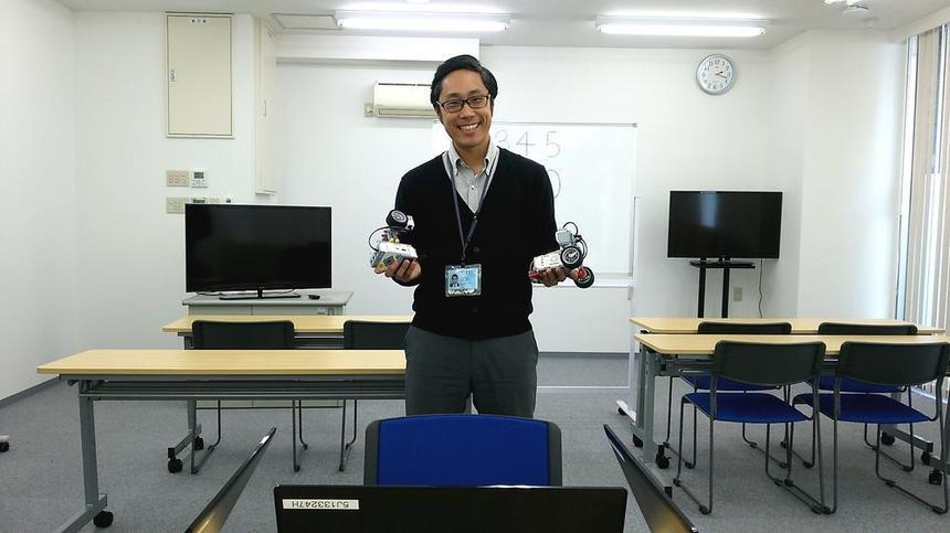 体験で使用したロボットたちです!