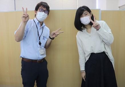 マイコーチと生徒の写真