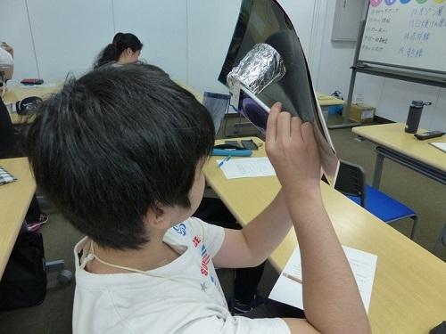 スマートフォンで理科実験!