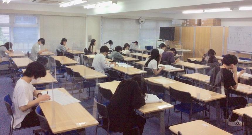 漢字検定本番!いい緊張感をもって臨みました!