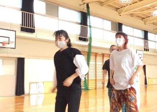 ダンス練習中!