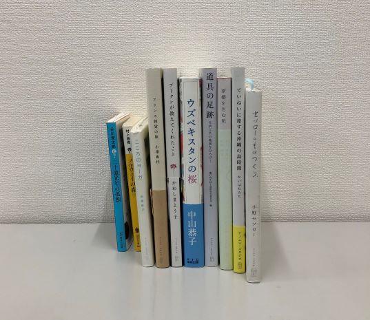 キャンパスにも色々な本があります