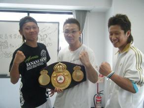 セレス小林さんとボクシング体験...