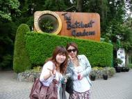 The Butchart Gardens、行ってきまーす\(^o^)/